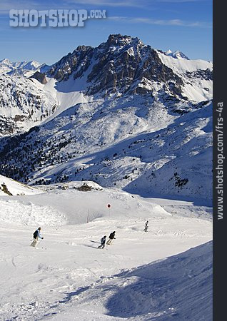 Les Menuires, Ski Slope, Ski Area