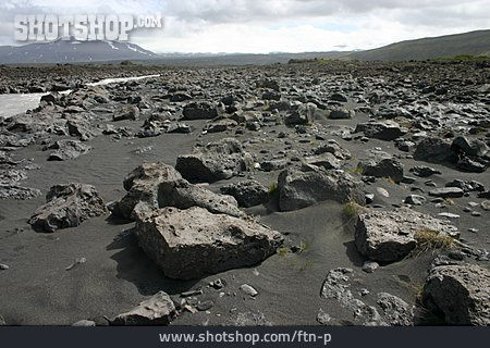 Stones, Stony Desert, Lava