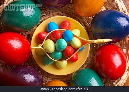 Easter Egg, Dyed, Eggcup