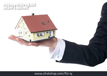 House, Artificial Model, Savings, Real Estate