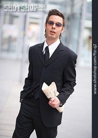 Suit, Businessman, Sunglasses
