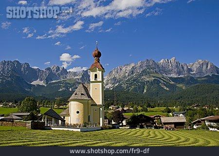 Church, Tirol, Going Am Wilden Kaiser