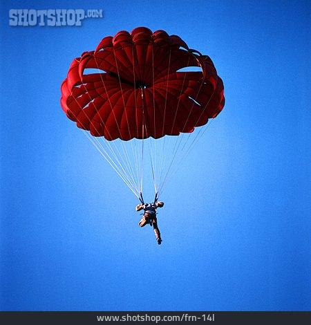 Parachute, Skydiving, Parachutist