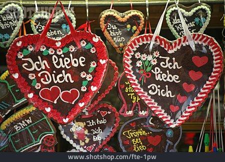 Funfair, Gingerbread Heart, Gingerbread