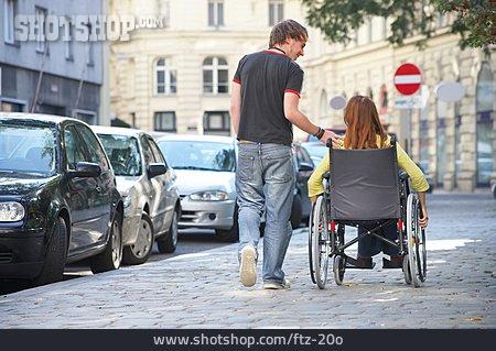 Friendship, Social Issues, Care, Wheelchair