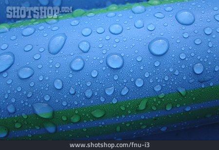 Blue, Waterdrop, Pipe