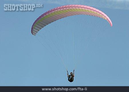 Paraglider, Paragliding, Paragliding