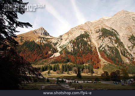 Mountain Range, Autumn, Mixed Forest