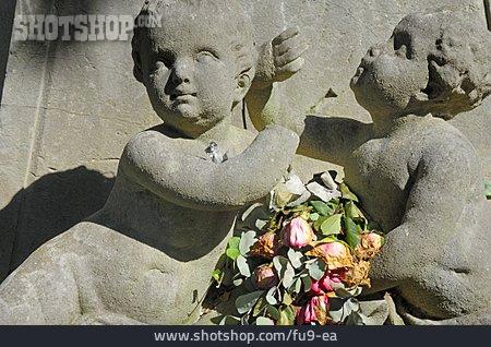 Statue, Cherub