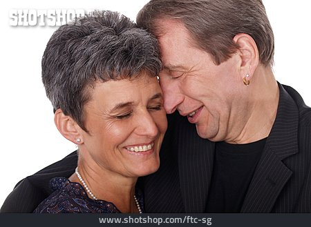 Woman, 45-60 Years, Man, Couple, Affectionate