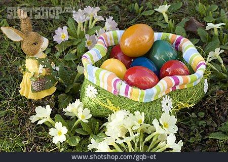 Easter Egg, Easter Nest, Easter Bunny