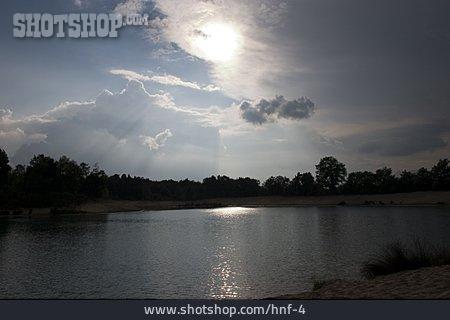 Sunrise, Lake
