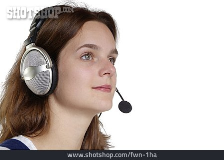 Mobile Communication, On The Phone, Headset