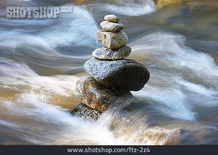 Stones, Flow, Flowing