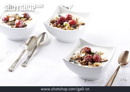 Dessert, Cereal, Yogurt