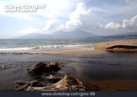 Beach, Corsica