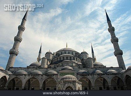 Mosque, Minaret, Sultan Ahmet Mosque