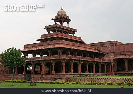 Historical Building, Palace, India, Fatehpur Sikri
