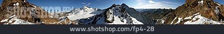 Mountain Range, Austria, Tirol