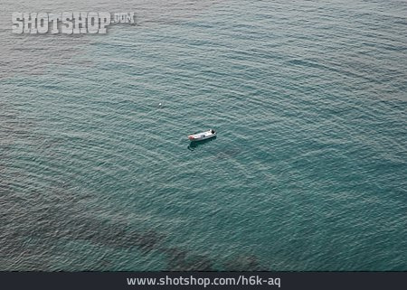 Sea, Rowboat