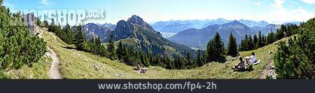 Mountain Range, Allgau, Bavaria, Breitenberg