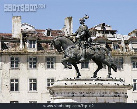 Memorial, Lisbon, Squestrian Sculpture