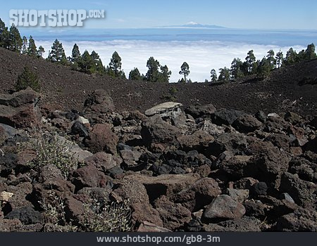Rock, Scree, Volcanic Rock