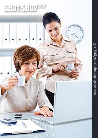Office & Workplace, Meeting & Conversation, Coffee Time, Business Woman