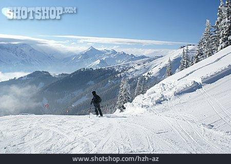 Winter Sport, Skiers, Ski Slope