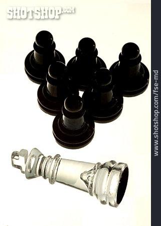 Figurine, Chess, King