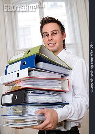 Young Man, Man, Folder