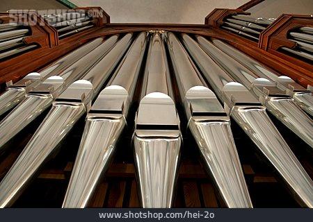 Pipe Organ, Organ Pipe, Nikolaikirche