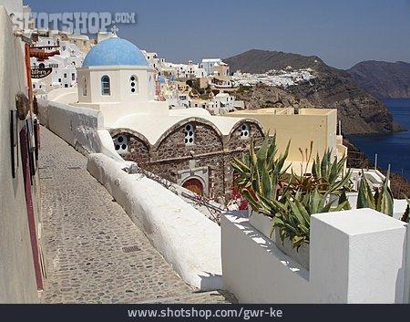 Church, Greece, Santorini