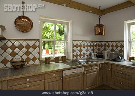 Domestic Life, Kitchen, Built In Kitchen