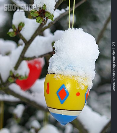 Snowy, Weather, Easter Egg, Coldsnap