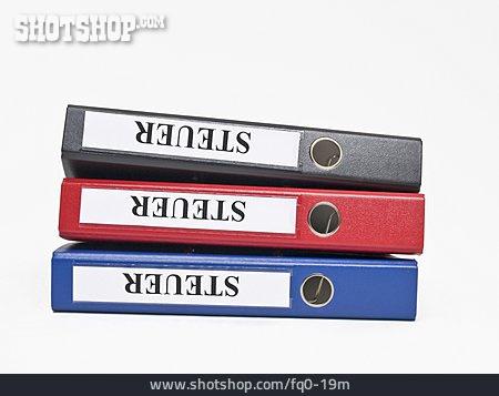 Tax, Folder, Tax Form