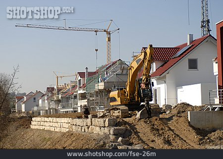 New Building, Construction Site