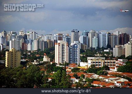 City View, Skyscraper, Sao Paulo