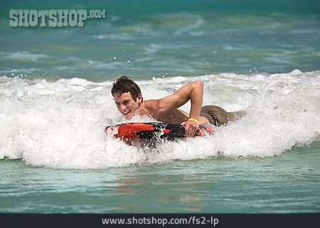 Water Sport, Surfer, Body Board, Bodyboarding