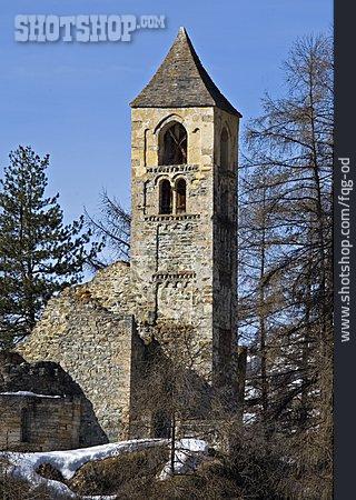 St. Peter, Church Ruin, Sent