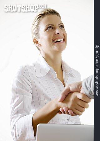 Handshake, Greeting, Business Partnership