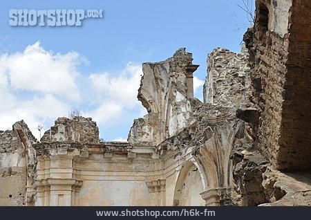 Church Ruin, Antigua, Convento De La Compania De Jesus