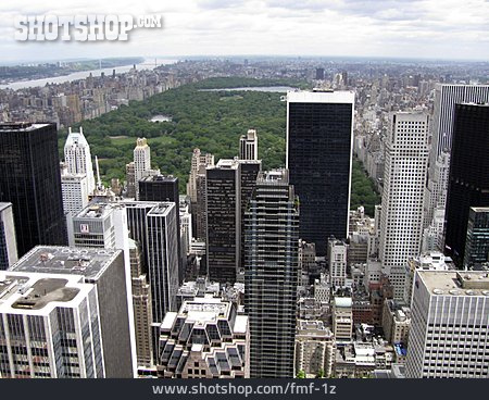 Skyscraper, New York, Manhattan, Central Park