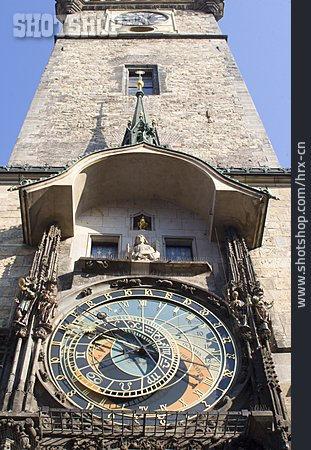 Prague, Astronomical Clock, Prague Old Town Square