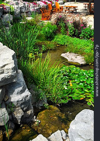 Garden, Garden Pond
