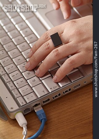 Computer, Keyboard, Typing