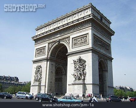 Arc De Triomphe, Paris, Place Charles De Gaulle