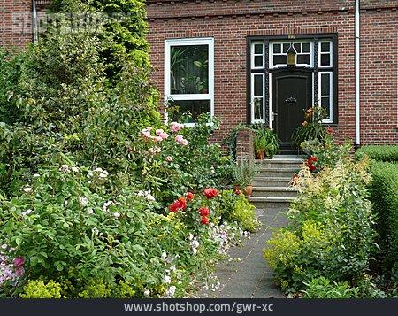 Front Door, Front Garden