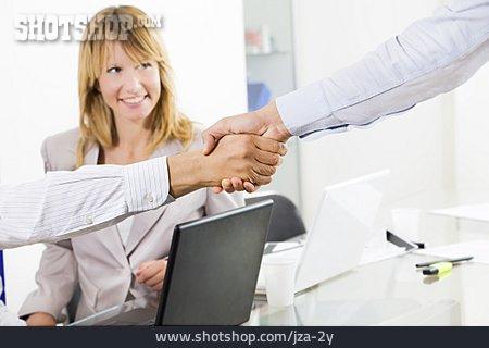 Cooperation, Handshake, Greeting, Business Partnership
