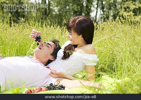 Summer, Love Couple, Picnic